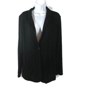 Old Navy Woman's Cardigan Sweater Black SzLarge
